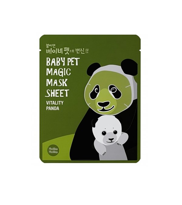 HOLIKA HOLIKA | Baby Pet Magic Mask Sheet Vitality Panda