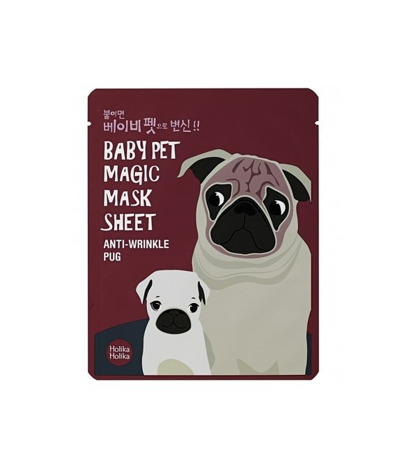HOLIKA HOLIKA | Baby Pet Magic Mask Sheet Anti-Wrinkle Pug