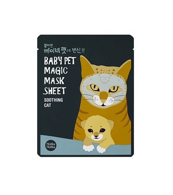 HOLIKA HOLIKA | Baby Pet Magic Mask Sheet Soothing Cat
