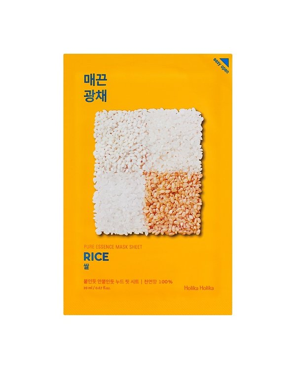 HOLIKA HOLIKA | Pure Essence Mask Sheet Rice