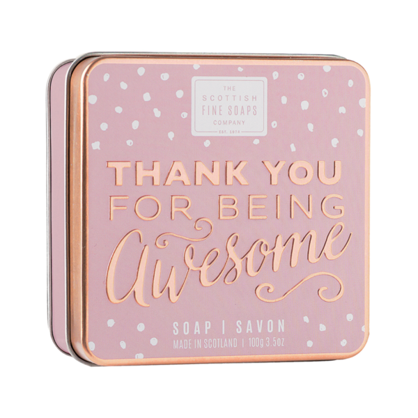 THE SCOTTISH FINE SOAPS - Thank You For Being Awesome