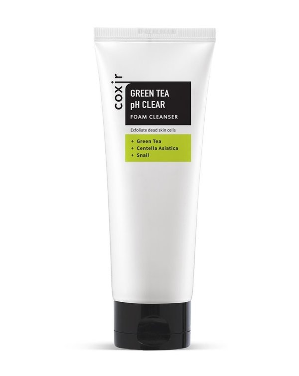 COXIR | Green Tea pH Clear Foam Cleanser