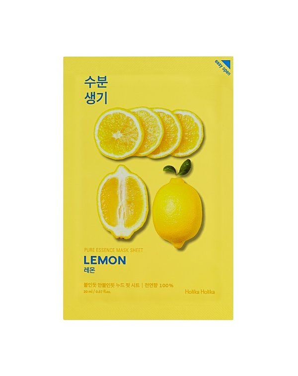 HOLIKA HOLIKA | Pure Essence Mask Sheet Lemon