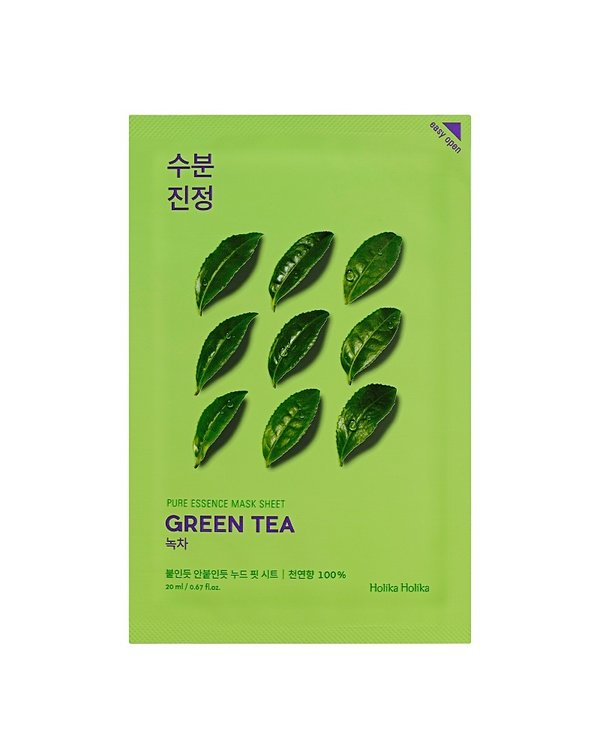 HOLIKA HOLIKA | Pure Essence Mask Sheet Green Tea